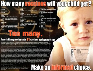 How many vaccines will your child get